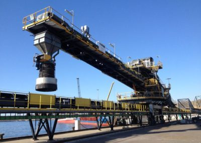 Ship Loaders, Stackers and Bucket-wheels