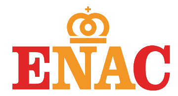 ENAC certification stamp